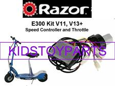 BRAND NEW! Razor E300 V11, V13+ ESC (ELECTRONIC SPEED CONTROLLER + THROTTLE)