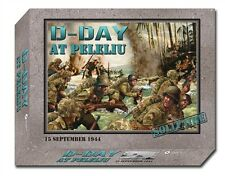 D-Day at Peleliu WWII Strategy Board Game Solitaire Decision Games DCG 1026 New
