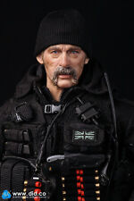 did action figure 1/6 12'' british sas sean black ops  toy dragon cyber hot toys