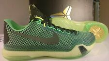 NEW Nike KOBE X - Vino Poison Green + Sequoia Volt 705317-333 Mens 10