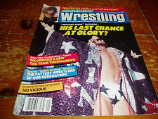 Sports Review Wrestling Magazine January 1990 Issue WWF / WWE