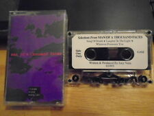 VERY RARE PROMO Joey Vera DEMO CASSETTE TAPE Man of 1000 Faces sampler ANTHRAX !