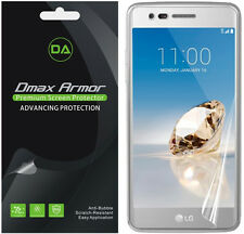 [2-Pack] Dmax Armor Full Screen Coverage Clear Screen Protector For LG Aristo