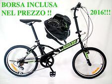 """BICICLETTA PIEGHEVOLE RUOTA 20"""",FOLDING BIKE,GRAZIELLA CON BORSA DA TRASPORTO!!!"""