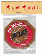 1970'S HOUSTON ROCKETS NBA BASKETBALL PATCH MINT IN BAG