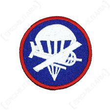 OFFICERS AIRBORNE GARRISON CAP PATCH - Repro Military American US Style Glider