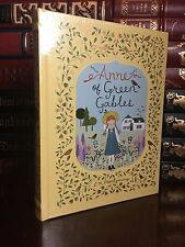 Anne of Green Gables by Montgomery New Sealed Leather Bound Collectible