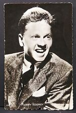 Mickey Rooney - AK - Foto Autogramm-Karte - Photo Postcard (Lot # F5682