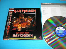 IRON MAIDEN Laser Disc LD Behind The Iron Curtain 1991 OOP Japan TOLW-3063 OBI