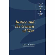 Justice Genesis War by David Welch. Paperback 9780521558686 Cond=LN:NSD