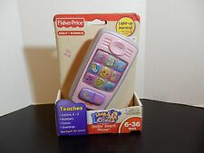 NEW Fisher-Price Laugh & Learn Smilin Smart Phone PINK