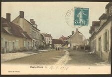 58 MAGNY-COURS CARTE POSTALE ROUTE NATIONALE 1912