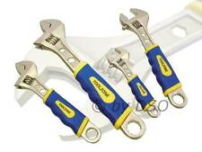 4PC ADJUSTABLE WRENCH SET - NEW
