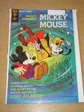 MICKEY MOUSE #115 VF+ (8.5) GOOFY WALT DISNEY GOLD KEY COMICS NOVEMBER 1967