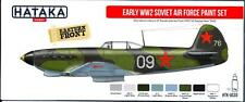 Hataka Hobby Paints EARLY WORLD WAR II SOVIET AIR FORCE Acrylic Paint Set