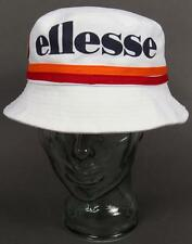 Ellesse Heritage - Andino Bucket Hat in White with large logo / SALE REDUCED