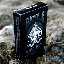 BICYCLE BLACK GHOST 2nd EDITION ELLUSIONIST PLAYING CARDS DECK MAGIC TRICK USPCC