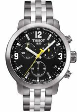 TISSOT PRC 200 T055.417.11.057.00 CHRONOGRAPH MENS WATCH STAINLESS STEEL QUARTZ