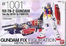 Used Banda FIX FIGURATION METAL COMPOSITE #1001 GUNDAM Ver.Ka WITH G-FIGHTER