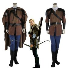The Hobbit Legolas Cosplay Halloween Men Costume Custom Made