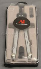 Art Institutes Metal Bow Drafting and Drawing Adjustable Leg Compass