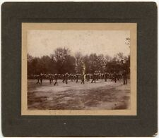 RIFLE DRILL ANTIQUE PHOTO