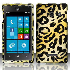 For Huawei W1 H883G Rubberized HARD Protector Case Phone Cover Cheetah Accessory