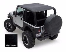 Smittybilt Extended Top in Durable Black Denim 1997-2006 Jeep Wrangler TJ 93615