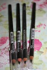 4X  Wet N Wild Brow Eye Liner Pencil Coloricon Full Size  #651 BLACK BLACK SEAL