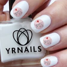 Nail WRAPS Nail Art Water Transfers Decals - Love is in the air - S576