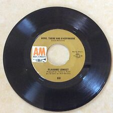 """RARE - CLAUDINE LONGET--""""Here, There & Everywhere""""- BEATLES song- A&M-1967-EX"""