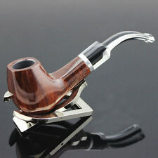 Stainless Steel Durable Pipe Smoking Tobacco Cigar Pipes Gift Stand Rack Holder