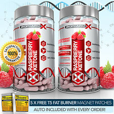 PURE RASPBERRY KETONE X2 : STRONGEST LEGAL FAT BURNER SLIMMING / DIET  PILLS