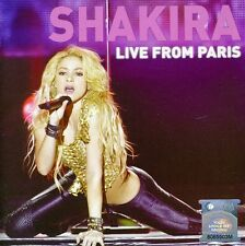 Live From Paris: Cd + Dvd Edition - Shakira (2011, CD NIEUW)2 DISC SET