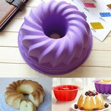 Silicone Ring Shaped Cake Pastry Bread Mold Mould Bakeware Kitchenware-
