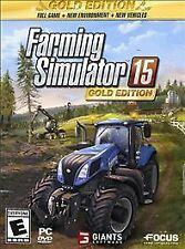 FARMING SIMULATOR 15 GOLD EDITION...PC...***SEALED***BRAND NEW***!!!!!