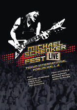 MICHAEL SCHENKER New 2017 UNRELEASED MSG REUNION LIVE JAPAN CONCERT BLU RAY