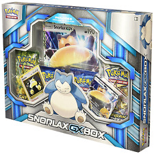 Pokemon TCG: Snorlax-GX Box Includes 4 booster packs + 1 Foil oversized card