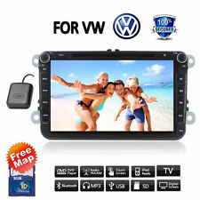 "HD 8"" GPS NAVI AUTORADIO CAR Stereo DVD PLAYER For VW GOLF JETTA PASSAT POLO EOS"