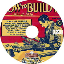 1930s How To Build it Magazines { Home Workshop Projects } on DVD