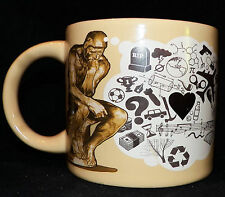 Unemployed Philosopher's Guild Rodan The Thinker Disappearing Image Coffee Mug