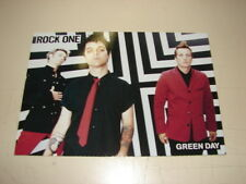 GREENDAY !!!!!!!!!!!!!!!!!!!!!!!!!FRENCH PROMO POSTCARD