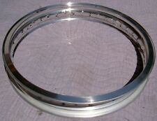 WM1 1.60 X 19 -36 hole Akront Italian style flanged alloy vintage motorcycle rim