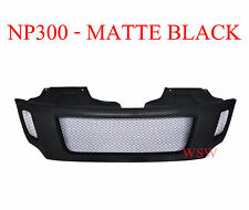 BLACK NET FRONT GRILL GRILLE FOR NEW NISSAN NAVARA NP300 2014 2015 2016 FRONTIER