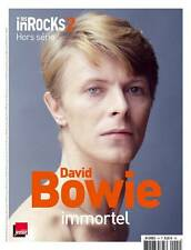 DAVID BOWIE L IMMORTEL LES INROCKS JANVIER 2016