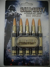 Call Of Duty World At War Video Game Bullet Belt Buckle Nwt