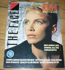 THE FACE magazine No.57 1985 ANNIE LENNOX Paul Young Spitting Image Dan Aykroyd
