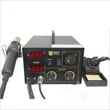 Station rework reballing soldering air hot LED lcd display air gun leadfree