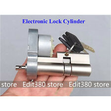 Full Metal Gear Motor Electronic Lock Core Door Key Cylinder Rebuild Repairment