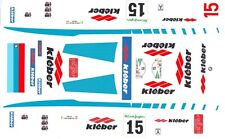 #15 BMW 635 CSi Kieber 1987 1/24th - 1/25th Scale Decals